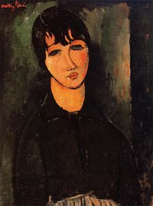 Amedeo Modigliani - 仆人