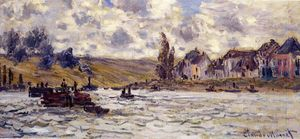 Claude Monet - Lavacourt村