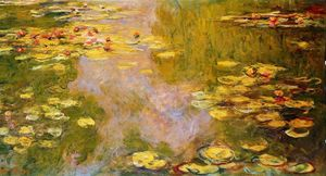 Claude Monet -  的 Water-Lily  池塘 9