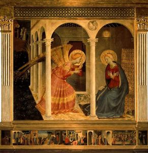 Fra Angelico - 报喜 1