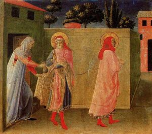 Fra Angelico - 香格里拉curación德Paladia