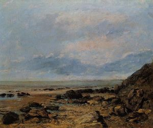 Gustave Courbet - 洛基海滨