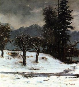 Gustave Courbet - 雪