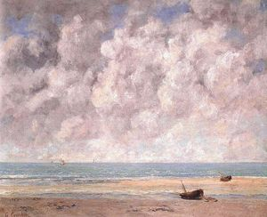 Gustave Courbet - 平静的海面