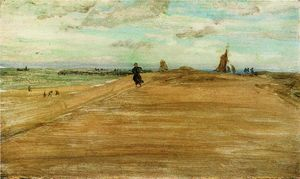 James Abbott Mcneill Whistler - 海滩现场 1