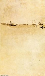 James Abbott Mcneill Whistler - 海滩现场
