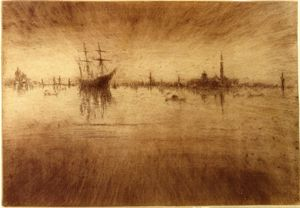 James Abbott Mcneill Whistler - 夜曲