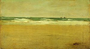 James Abbott Mcneill Whistler - 愤怒的海