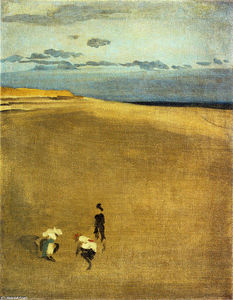 James Abbott Mcneill Whistler -  的 河岸 在 Selsey 法案