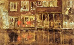 James Abbott Mcneill Whistler -  的 运河, 阿姆斯特丹