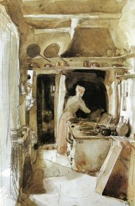 James Abbott Mcneill Whistler - 厨房