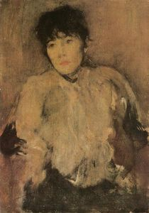 James Abbott Mcneill Whistler - 玫瑰围巾