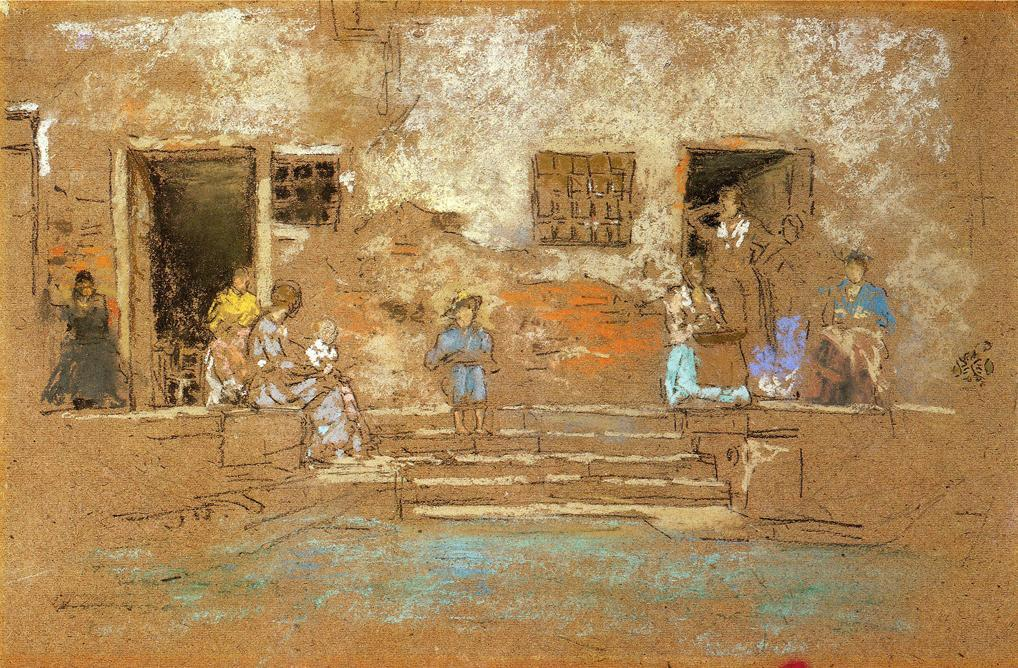 步骤 通过 James Abbott Mcneill Whistler (1834-1903, United States) | 傑作拷貝 | WahooArt.com