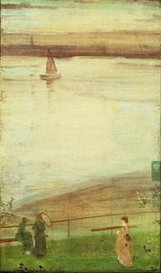 James Abbott Mcneill Whistler - 变化 在 紫色 和 绿色