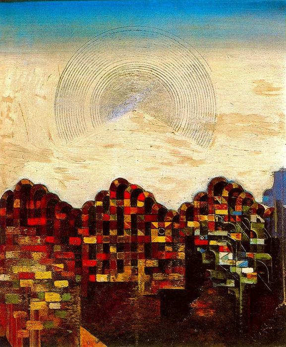 PARIS-SUENO, 油 通过 Max Ernst (1891-1976, Germany)