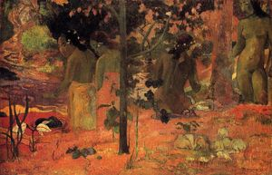 Paul Gauguin -  的  泳客