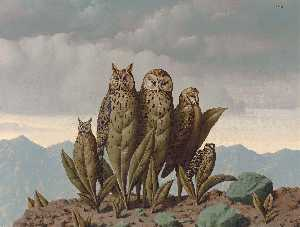 Rene Magritte - 同伴 的  恐惧