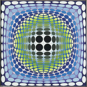 Victor Vasarely - 阿伦预