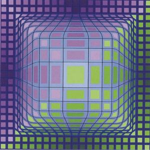 Victor Vasarely -  球