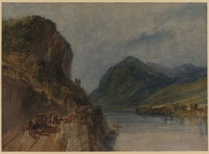 William Turner - 该Drachenfels
