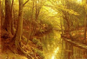 Peder Mork Monsted - 林地流