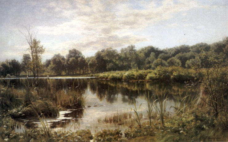 Bollemosen 通过 Peder Mork Monsted (1859-1941, Denmark) | 手工畫 | WahooArt.com