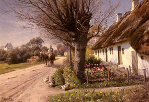 Peder Mork Monsted - 别墅在Hjornbaek
