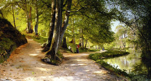 Peder Mork Monsted - 书房罗德Paraply