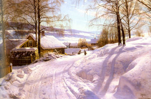 Peder Mork Monsted -  上 `snowy`  路径
