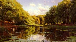 Peder Mork Monsted - 河流景观 2