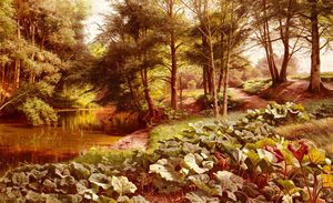 Peder Mork Monsted -  的  路径  上 River's 边缘