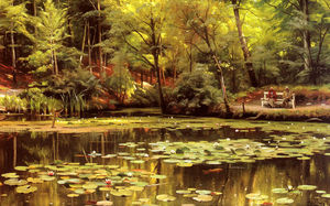 Peder Mork Monsted - 出水芙蓉
