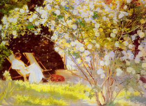 Peder Severin Kroyer - 莱斯玫瑰
