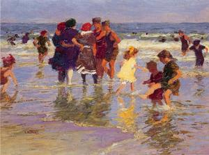 Edward Henry Potthast - 一个 七月 天