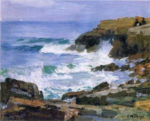 Edward Henry Potthast - 望着大海