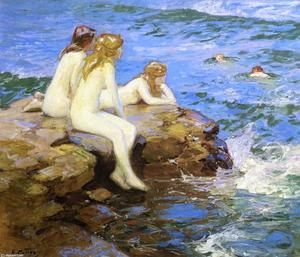 Edward Henry Potthast - 海Numphs