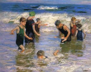Edward Henry Potthast -  的 bathers