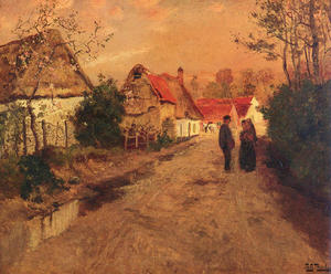 Frits Thaulow - ArquesLaBataille,诺曼底