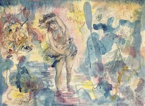 George Grosz - journey`  通过  的  夜