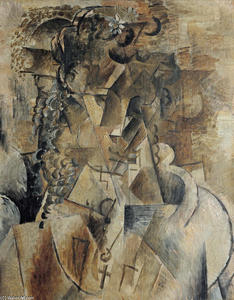 Georges Braque -  女孩与 a  跨