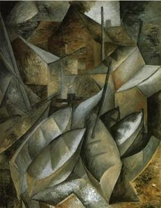 Georges Braque - 港