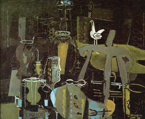 Georges Braque - 该工作室(VI)