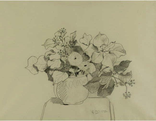布拉克(1882年5月13日 - 1963年8月31日)是一个主要的20世纪法国画家,雕塑家,与毕加索一起,研制出了作为立体派艺术风格。 布拉克出生于1882年5月13日,在阿让特伊,VAL-dOise。他长大在勒阿弗尔和训练房子画家和他的祖父和父亲一样的装饰。不过,他亦在晚上在Écoledes Beaux艺术学习艺术绘画,在勒阿弗尔,从1897年到1899年。在巴黎,他师从一个装饰,并在1902年他被授予证书。次年,他参加了亨伯特的Académie,在巴黎也有画,直到19