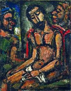 Georges Rouault - 侮辱基督