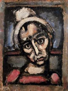 Georges Rouault - 不使用化妆谁一