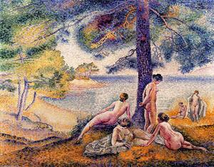 Henri Edmond Cross - a  地方  在 `shade`