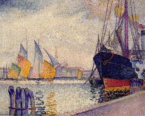 Henri Edmond Cross - 运河 德 啦 Guidecca , 威尼斯