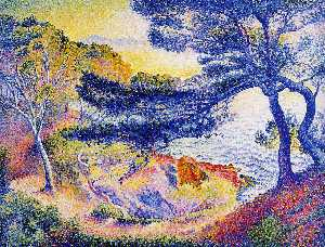 Henri Edmond Cross - 普Layet,普罗旺斯