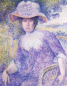 Henri Edmond Cross - 肖像夫人十字