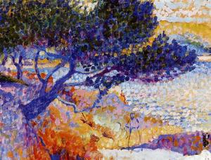 Henri Edmond Cross - 卡瓦列雷湾(研究)